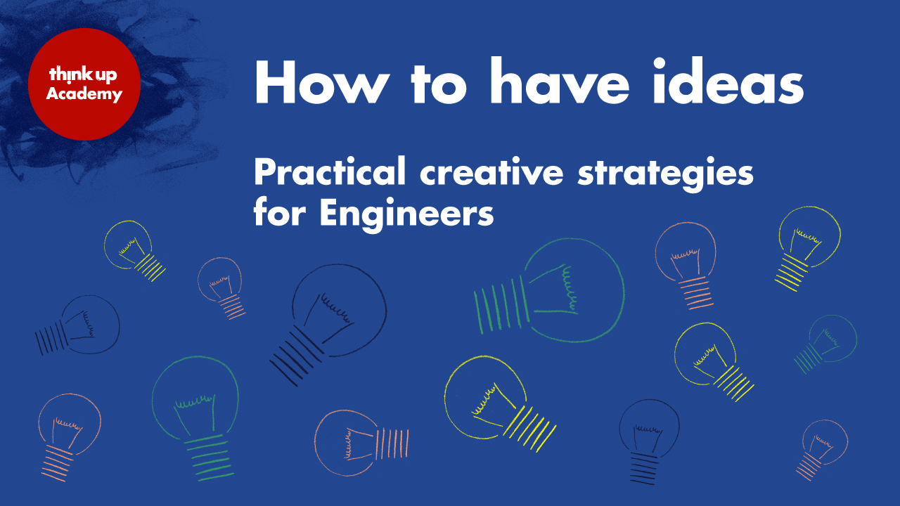 Featured image of article: How to have ideas